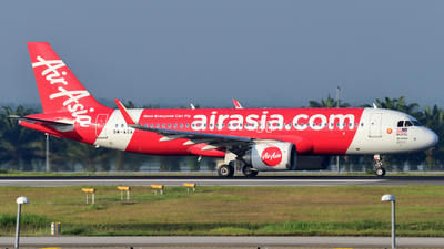 A picture of 9MAGA - Airbus A320251N - AirAsia - © flee