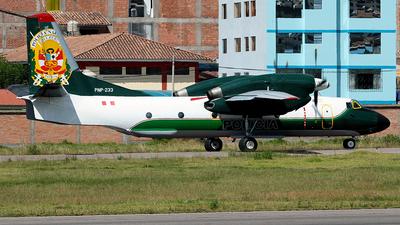 PNP-233 - Antonov An-32B - Perú - Police