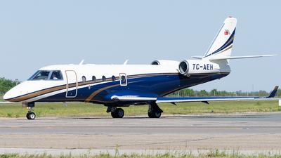 TC-AEH - Gulfstream G150 - Private