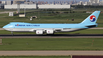 HL7623 - Boeing 747-8B5F - Korean Air Cargo