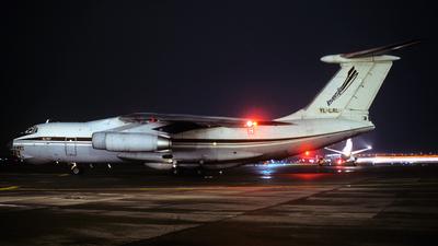 YL-LAL - Ilyushin IL-76T - Inversija