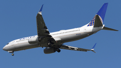 A picture of N76522 - Boeing 737824 - United Airlines - © DJ Reed - OPShots Photo Team