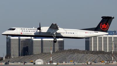 C-GYJZ - Bombardier Dash 8-Q402 - Air Canada Express (Jazz Aviation)