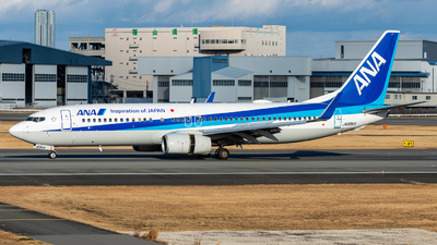 JA69AN - Boeing 737-881 - All Nippon Airways (Air Japan)