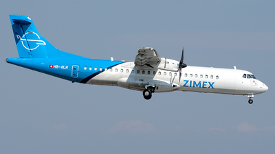 HB-ALR - ATR 72-212A(500) - Zimex Aviation
