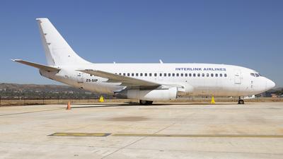 ZS-SIP - Boeing 737-230(Adv) - Interlink Airlines