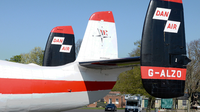 G-ALZO - Airspeed AS.57 Ambassador 2 - Dan-Air London