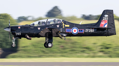 ZF293 - Short Tucano T.1 - United Kingdom - Royal Air Force (RAF)