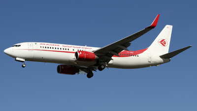 A picture of 7TVKI - Boeing 7378D6 - Air Algerie - © subing27