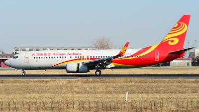 B-5712 - Boeing 737-84P - Hainan Airlines