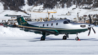 G-KFTI - Pilatus PC-12/47E - Private