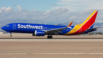 A picture of N8701Q - Boeing 737 MAX 8 - Southwest Airlines - © Nicholas Hesler