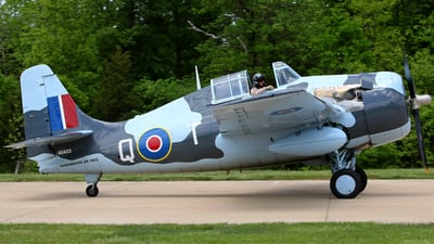 N5833 - Grumman FM-2 Wildcat - Commemorative Air Force