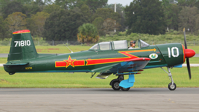 N21710 - Nanchang CJ-6A - Private