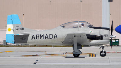N14103 - North American T-28B Trojan - Private