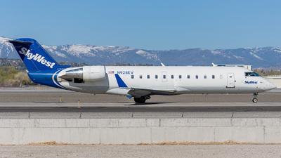 A picture of N928EV - Mitsubishi CRJ200LR - SkyWest Airlines - © Koson Verkler