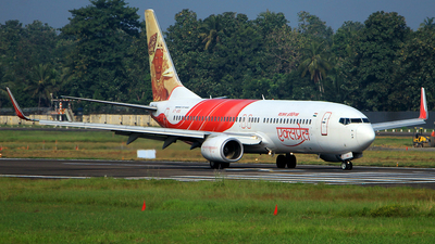 A picture of VTAYA - Boeing 7378HG - Air India Express - ©  Rohit  Ramachandran