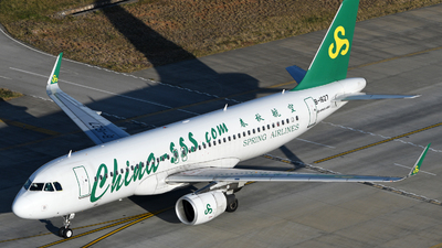 B-1627 - Airbus A320-214 - Spring Airlines