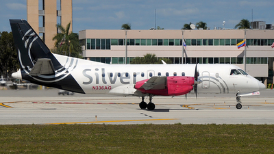 N336AG - Saab 340B - Silver Airways