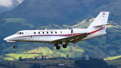 FAP3001 - Cessna 680 Citation Sovereign - Paraguay - Air Force
