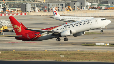 B-7873 - Boeing 737-8LY - Kunming Airlines