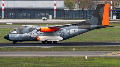 50-40 - Transall C-160D - Germany - Air Force