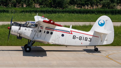 B-8183 - Yunshuji Y-5 - Jingmen United General Aviation