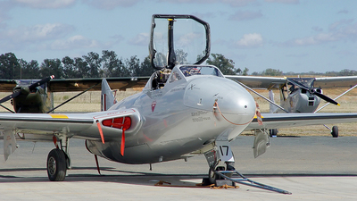 VH-VAM - De Haviland Australia Vampire T.35 - Temora Aviation Museum