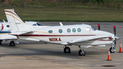 N111KA  - Beechcraft C90 King Air - Private