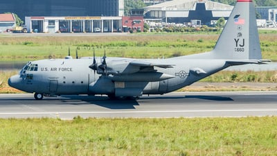 74-1660 - Lockheed C-130H Hercules - United States - US Air Force (USAF)