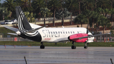 A picture of N328AG - Saab 340B - Silver Airways - © Toño Ayala