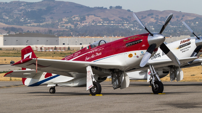 N71FT - North American P-51D Mustang - Private