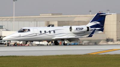 A picture of N73GP - Learjet 55B - [55127] - © Stig Rokkones