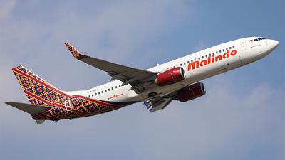 9M-LCF - Boeing 737-8GP - Malindo Air