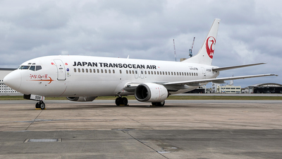 JA8998 - Boeing 737-446 - Japan TransOcean Air (JTA)