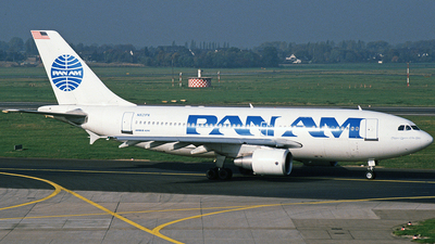 N821PA - Airbus A310-324 - Pan Am