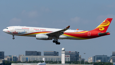 A picture of B8287 - Airbus A330343 - Hainan Airlines - © miCHAel TAN