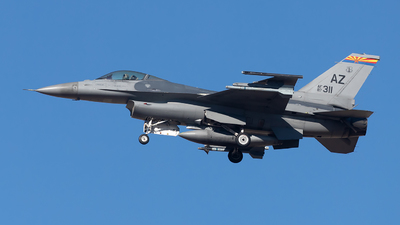 87-0311 - General Dynamics F-16C Fighting Falcon - United States - US Air Force (USAF)