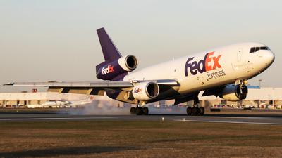 N373FE - McDonnell Douglas MD-10-10(F) - FedEx