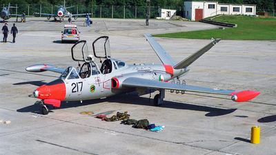 217 - Fouga CM-170 Magister - Ireland - Air Corps