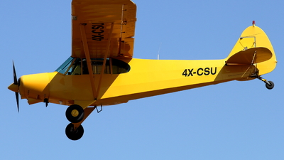 4X-CSU - Piper PA-18-150 Super Cub - Private
