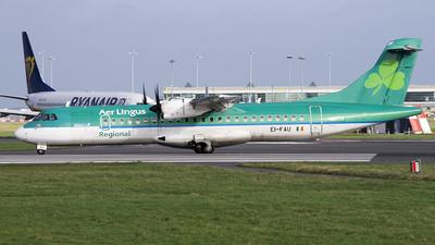 EI-FAU - ATR 72-212A(600) - Aer Lingus Regional (Stobart Air)