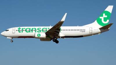 A picture of FGZHR - Boeing 7378K2 - Transavia - © a.m.