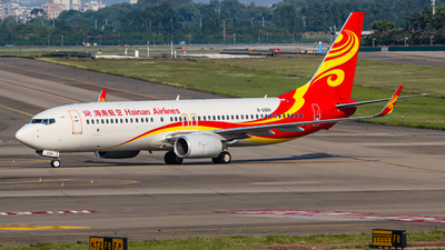 A picture of B206H - Boeing 73784P - Hainan Airlines - © Y467 HAREKAZE