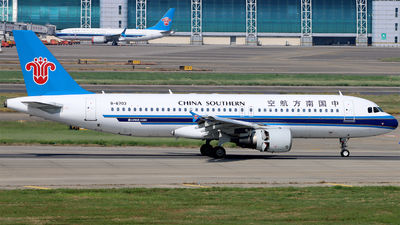 A picture of B6703 - Airbus A320214 - China Southern Airlines - © Kiyu Zhang