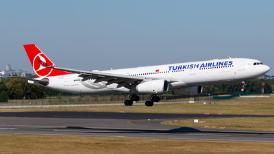 A picture of TCLOD - Airbus A330343 - Turkish Airlines - © Matteo Lamberts