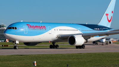 G-OBYE - Boeing 767-304(ER) - Thomson Airways