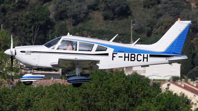 F-HBCH - Piper PA-28-180 Cherokee G - Private