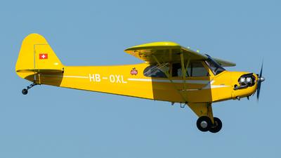 HB-OXL - Piper J-3C-65 Cub - Private