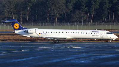 A picture of DACKF - Mitsubishi CRJ900LR - Lufthansa - © Christian Weber